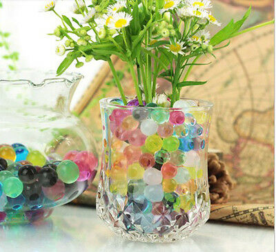 5 bags of magic Crystal Mud Soil Water Beads plant Grow ball Wedding NEW