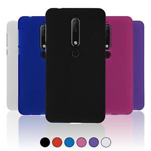 online retailer e1019 aacab Silicone Case for Nokia 6.1 (2018) matt Cover | eBay