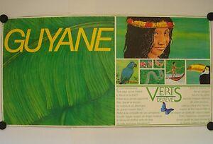 Affiche Guyane Verts De Rêve - Tourisme