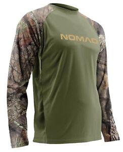 Nomad Homme à Manches Longues Raglan Camouflage Chasse Chemise N1200020-afficher le titre d`origine VNE93WW6-07154833-894687030