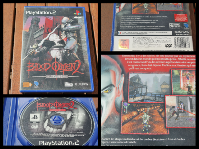 Jeu Sony Playstation PS2 PAL FR 2002 • Blood Omen 2 : The Legacy of Kain Series