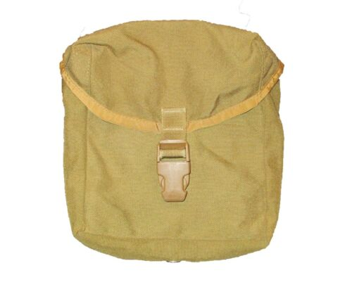 1 Coyote Tan IFAK First Aid Pouch 8465-01-539-2732 GVG US Army Surplus One
