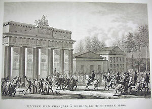 Entrance-of-French-in-Berlin-Checkmate-Impact-Prussian-1806-Napoleon-Bonaparte