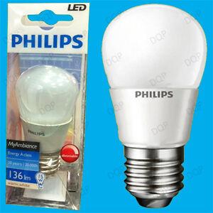 8-x-3W-Philips-a-variation-qualite-superieure-del-Golf-AMPOULE-ES-E27