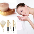 Soft Mild Fiber Face Clean Deep Cleansing Wash Pore Facial Care Brush Wood  OE