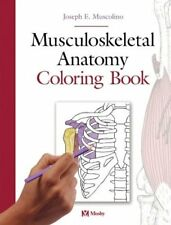 musculoskeletal anatomy coloring book 1e - The Anatomy Coloring Book