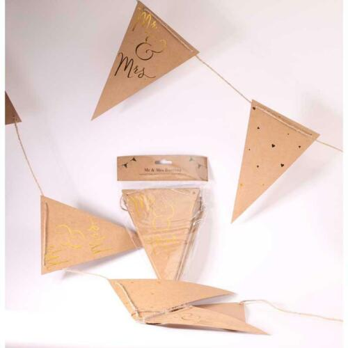 Wedding Decoration Venue Dressing Ceramic,Paper,Hessian,Wooden Bunting//Signs