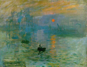 Impression-Sunrise-by-Claude-Monet-Handmade-Oil-Painting-Reproduction-on-Canvas