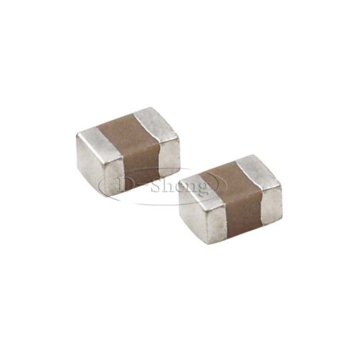 50PCS 0805 SMD//SMT Capacitors 106K 10uF 50V 10/% X7R Ceramic Capacitors