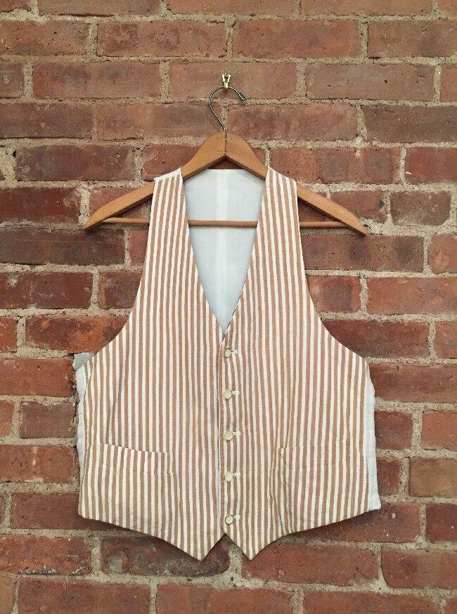 Adam Kimmel Reversible Men's Vest Größe 50 Medium, Handmade In