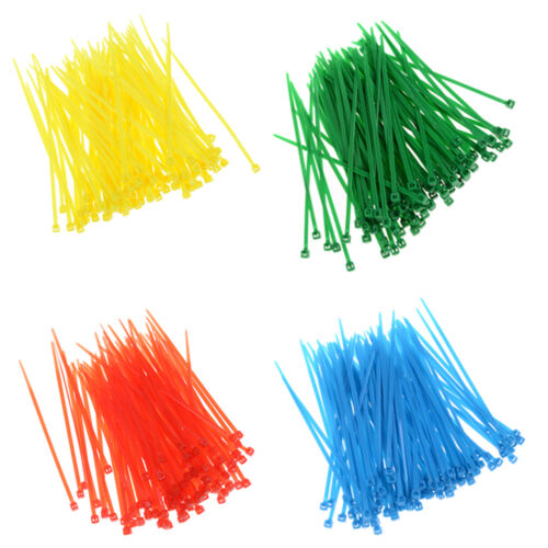100X UV Resistant Nylon Plastic Cable Wire Organiser Zip Tie Cord Strap 3x100DZ