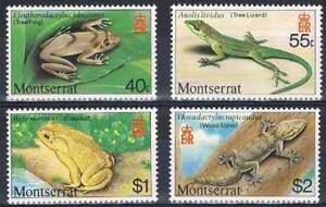 Montserrat-postfris-1980-MNH-413-416-Dieren-Animals-k222