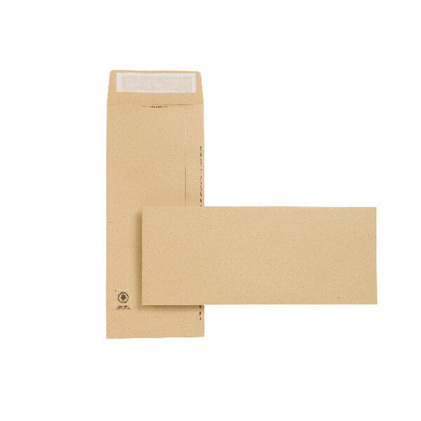 New Guardian Envelope 305x127mm 130gsm Manilla Peel and Seal Easy Open Manilla C