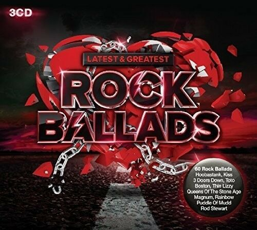 Various Artists - Latest & Greatest Rock Ballads [New CD] UK - Import