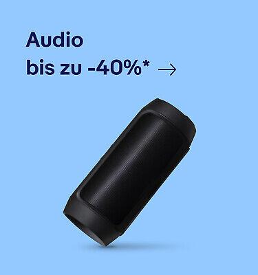 Audio bis zu -40%*