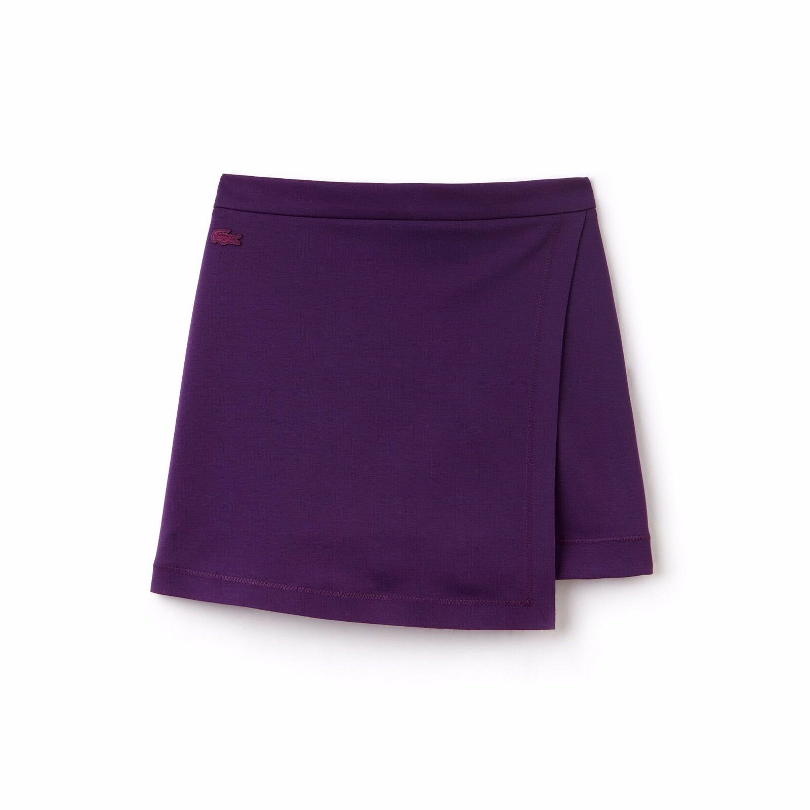 Lacoste Purple milano knit pleated skirt  Size 34 2      165    b9
