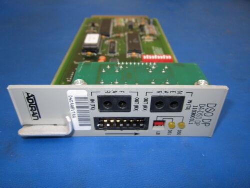 Adtran Reduced Option Performance Monitoring Module D4-DS0 DP 1103003L1