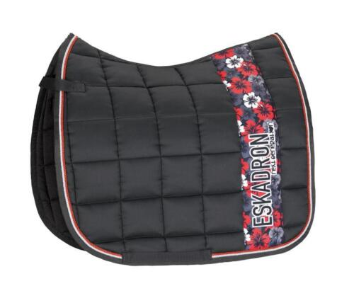 NEW! Eskadron Big Square Saddle Cloth Full Aloha Anthracite Dressage or GP