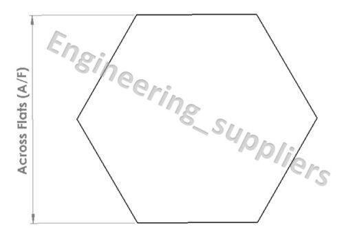 6 Cheap Laiton à Tête Hexagonale Solide Barre modélisme 5 8 /& 10 mm A//F 50 To 600 mm Longueurs