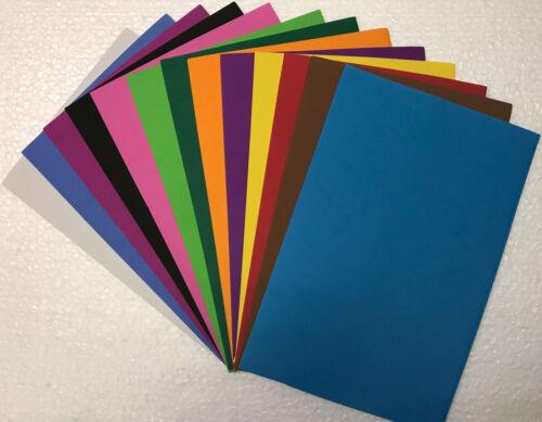 10 X wamiq A4 Funky Art /& Craft Hojas de espuma EVA-opción de 13 Colores 1 mm