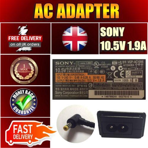 ORIGINALE Adp-30kh B VGP-AC10V2 Alimentazione Principale Caricatore 10,5 v 1,9 a