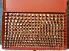 Van Keuren Pin Gage Set 251 500 Vk Ii Class Zz Minus Incomplete Set