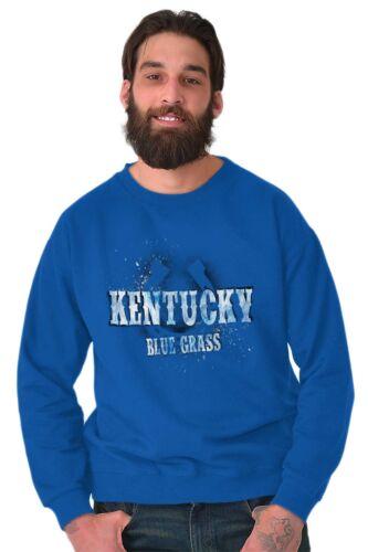 Kentucky Blue Grass Horseshoe Horse Race Vacation Souvenir Pullover Sweatshirt