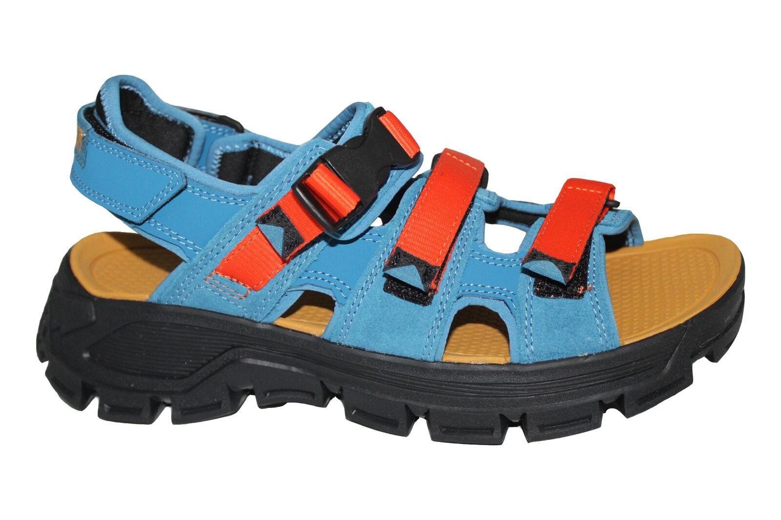 Caterpillar Progressor Blue Buckle 4 Strap Comfort Hiking Sandals