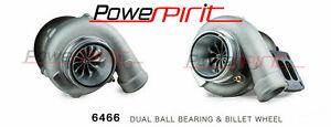 POWER-SPIRIT-6466-Dual-ball-bearing-GTX-billet-wheel-850HP-TURBO-T4