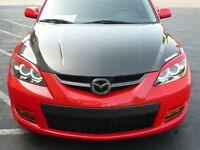 Mazda3 Hatchback Axela Eyelids Eyebrows Headlights Light Brows Lids Trim Covers