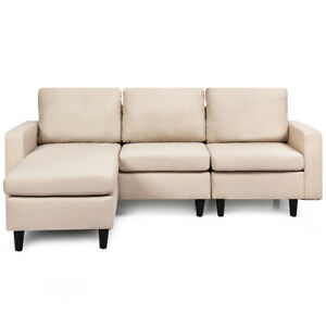 Convertible Sectional Sofa L Shaped