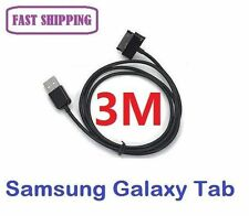3M USB Data Sync Charger Cable For Samsung GALAXY Tab2 P5100 P3100 P1000 N8000