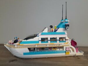 LEGO Friends Dolphin Cruiser # 41015 100%Complete with Manual.