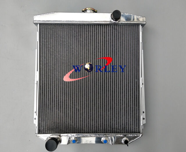 3 ROW aluminum radiator for FORD Fairlane Sedan Wagon Mainline 1954 1955 1956 54