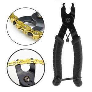 Bike Chain Magic Buckle Repair Removal Tool Bike Master Link Plier Cycling  Z6N8