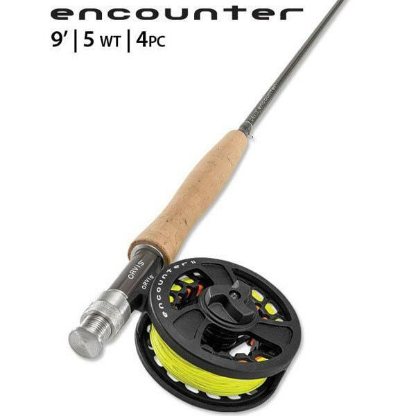 Orvis Encounter Outfit Fly Rod &  Reel - 5 weight 9ft 4pc NEW FREE SHIPPING  your satisfaction is our target