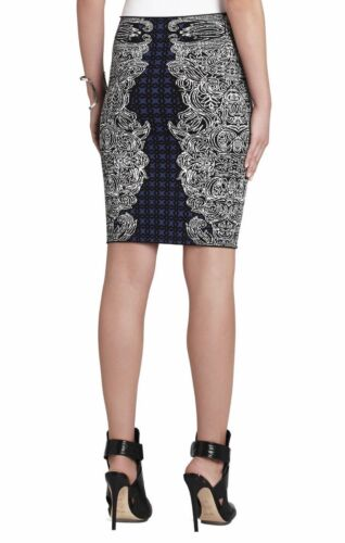 Jupe Jacquard Noir S Taille Irene Maxazria Bcbg Pdsf Tribal Combo H65FqXFwa