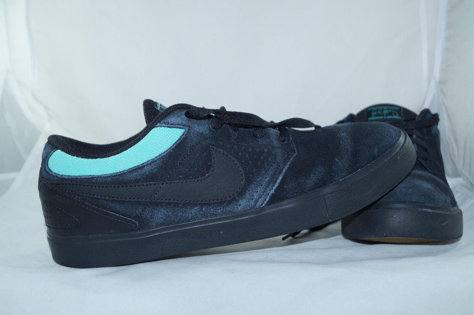 Nike sb Paul Rodriguez 5 LR GR: 46 - 45 negro low tops skater zapatos