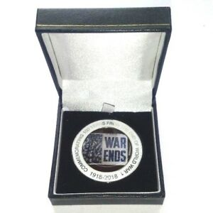 100-Years-Since-The-End-Of-WW1-World-War-1-Commemorative-Coin-Free-Gift-box