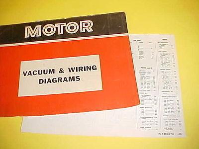 1965 1966 1967 1968 1969 Plymouth Road Runner Gtx Convertible Wiring Diagrams Ebay