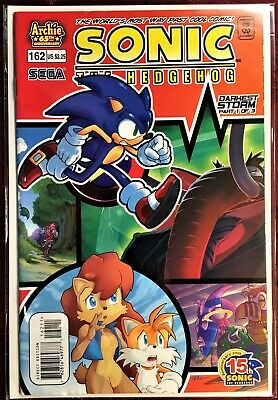 Sonic The Hedgehog Comic Book 162 July 2006 First Edition Bagged Boarded Mint Ebay