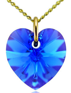 September-Birthstone-Necklace-Sapphire-9ct-Gold-Heart-with-Swarovski-Crystal