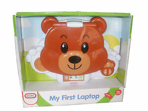 little tikes push and play bear laptop my first laptop. Black Bedroom Furniture Sets. Home Design Ideas