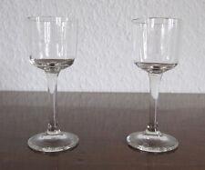Art Deco Glas - 2 Liquer Gläser - mundgeblasen - um 1920