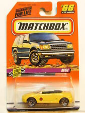 MATCHBOX 1998 #66 OF 75 - STREET CRUISERS - MGF