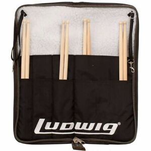 Ludwig-LX31BO-Atlas-Classic-Heirloom-Drum-Stick-Bag-Holds-20-Drumsticks