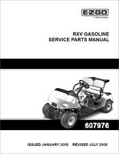 Ez go golf cart part rxv electric service parts manual 607975 ebay ez go rxv golf cart parts manual 2008 2013 b386 publicscrutiny Image collections