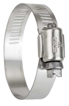 ZORO SELECT 5210070 Hose Clamp,1//2 to 1-1//16 In,SAE 10,PK10