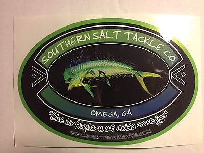 """Southern Salt"" Truck / Vehicle decal - Saltwater fishing - Cobia, Mahi -Sticker"