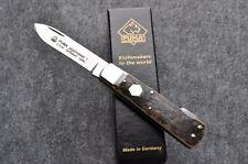 Puma Taschenmesser Hirschhorn Jagd Messer Jagdmesser Stahl 1.4110 Neu 327209